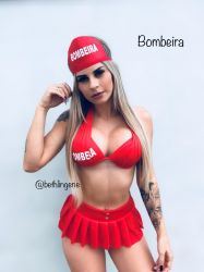 FANTÁSIA BOMBEIRA ERÓTICA